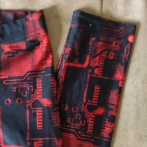 Blackmilk Pants - Blackmilk Matrix Leggings
